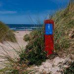 Hærvejen langs stranden i Nordjylland