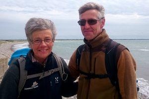 Christina og Ib er turledere hos Vagabond Tours